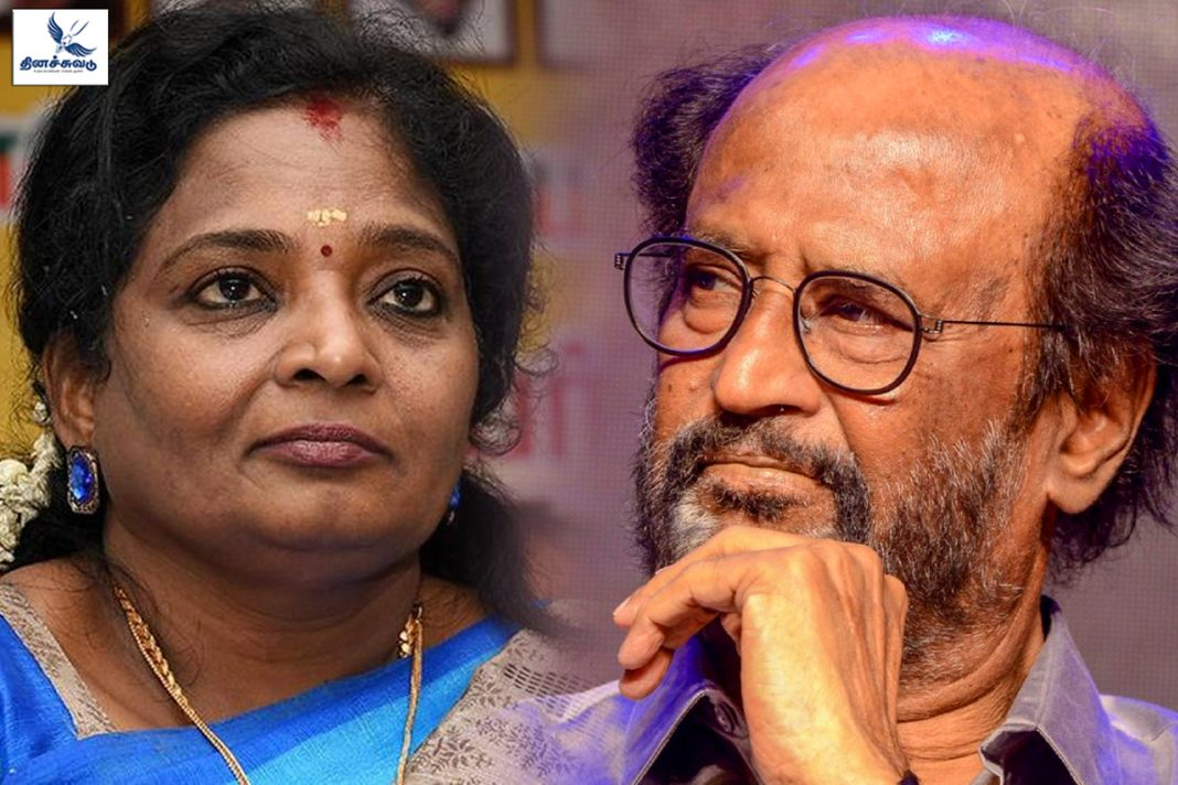 tamilisai and rajini